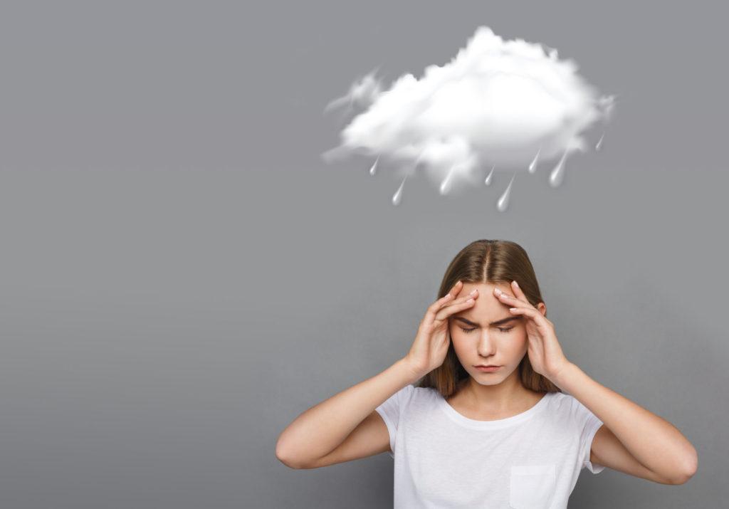 気圧の変化による頭痛